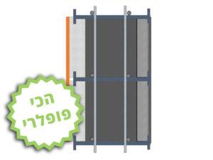 חתך ICB – בידוד בטון בלוק