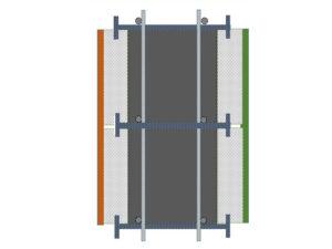 חתך ICI ( בידוד – בטון – בידוד)