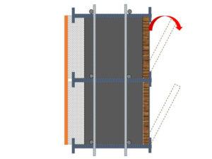חתך ICT (בידוד-בטון-דיקט טגו)