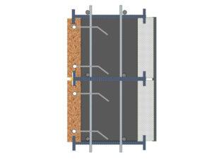 חתך SCI – אבן בטון בידוד