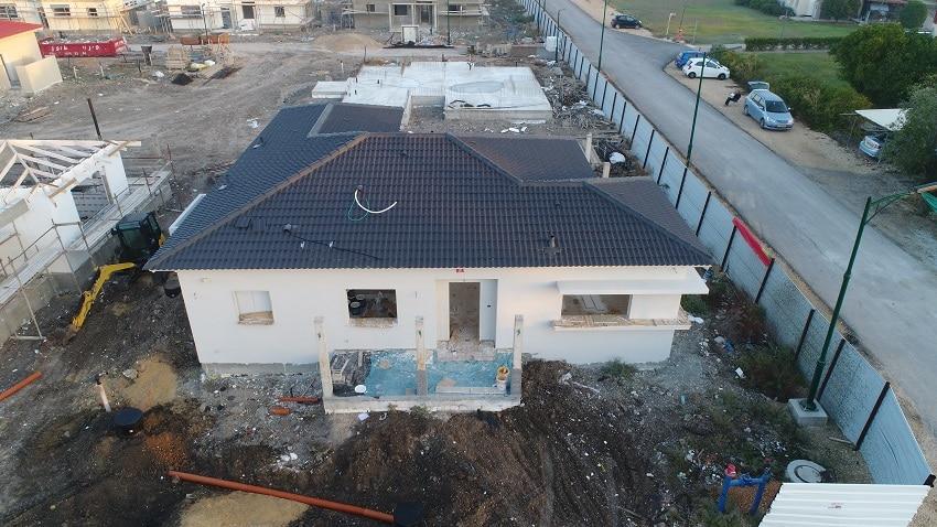 בניה ב GSB , סיור בשטח עם תומר חן ריחאנה מבונים בית
